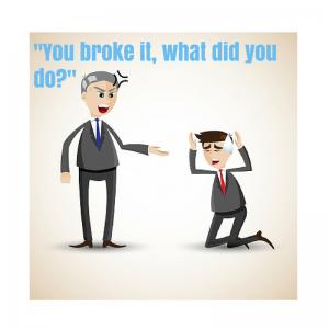 you broke it
