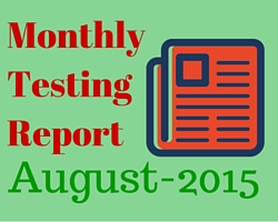 Monthly_Software_Testing_Report_August_2015