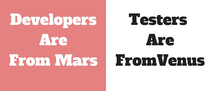 Developers Are From Mars