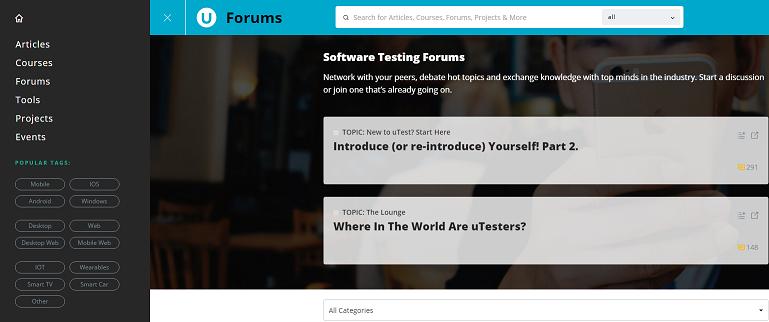 uTest_forum