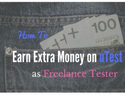 How to earn extra money as freelance tester on uTest – an uTest review