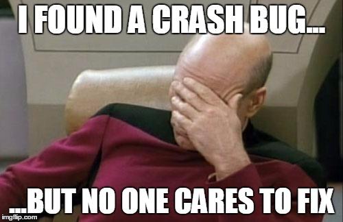 i found a crash bug