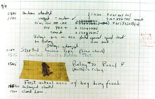 first software bug